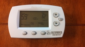image of digital thermostat